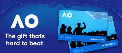 Australian Open gift cards now available