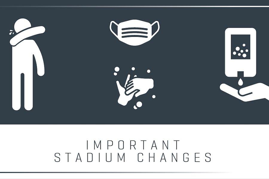 Important Stadium changes
