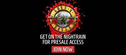 Get on the Nightrain for presale access