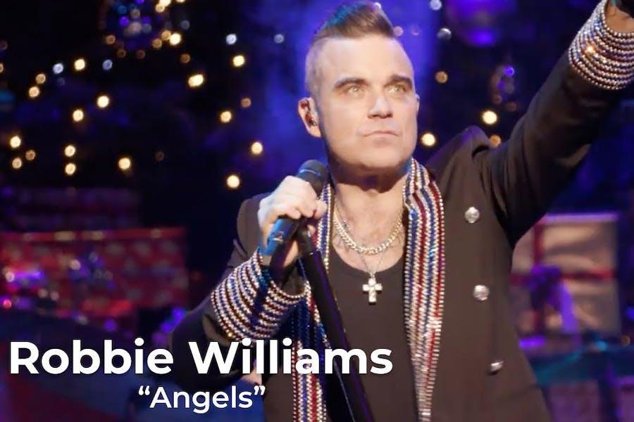 Robbie Williams at Magic Of Christmas 2019