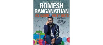 Romesh Ranganathan releases his second book