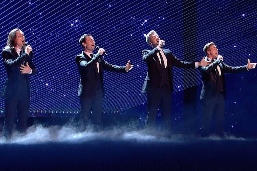 Who Wants To Live Forever at BGT