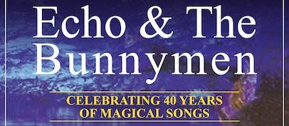 Echo & The Bunnymen announce rescheduled dates
