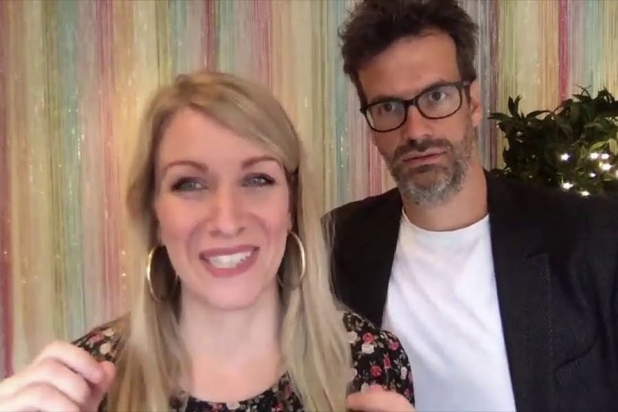 Lockdown Laughs: Rachel Parris & Marcus Brigstocke Talk To Spencer Kelly