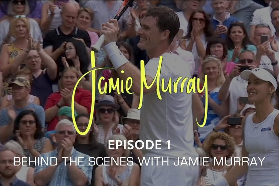 Behind the scenes with Jamie Murray