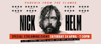 Nick Helm announces a livestream performance