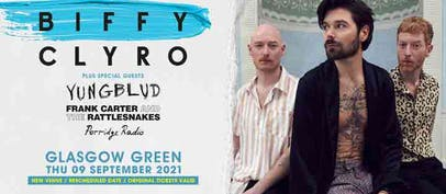 Biffy Clyro announce new date & venue for Glasgow show