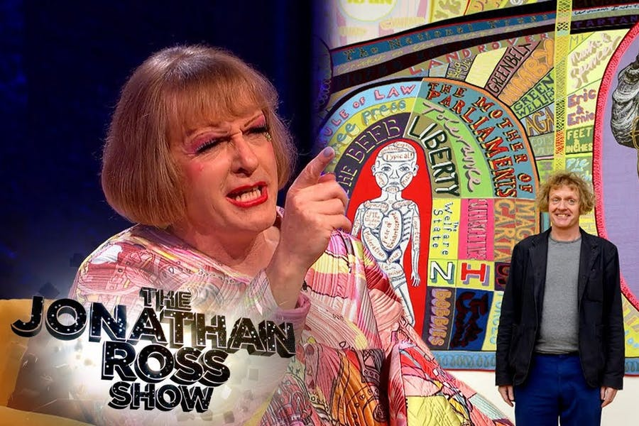 Grayson Perry Receives Unexpected Attention Everywhere! | The Jonathan Ross Show