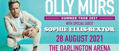 Sophie Ellis-Bextor to join Olly Murs in Darlington