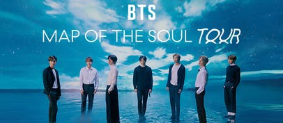 BTS MAP OF THE SOUL TOUR – EUROPE postponed