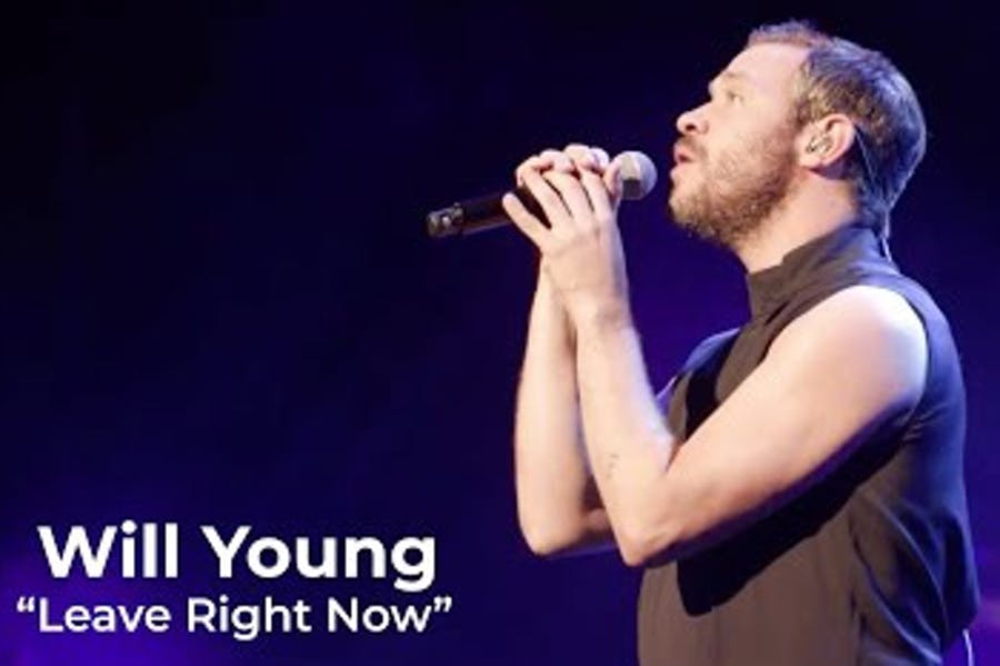 Will Young at Magic Of Christmas 2019