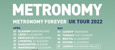 Metronomy announce 2022 UK tour