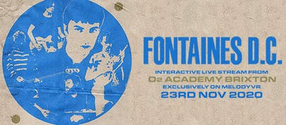Fontaines D.C. announce livestream from Brixton