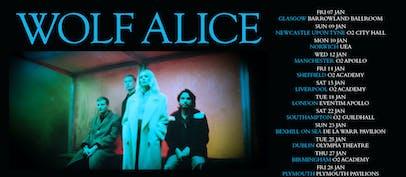 Wolf Alice announces 2022 UK tour