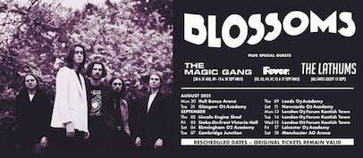 Blossoms announce rescheduled tour dates