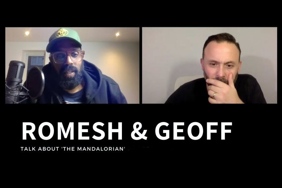 Romesh & Geoff Talk About The Mandalorian