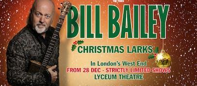 Bill Bailey announces Christmas Larks gigs