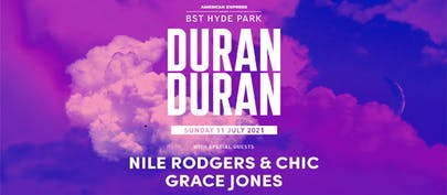 Duran Duran will headline BST Hyde Park on Sunday 21 July 20