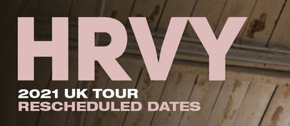 HRVY reschedules and adds new dates