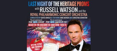 Russell Watson announces summer outdoor concerts